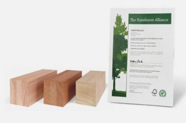 Lacuna foldedør FSC Wood